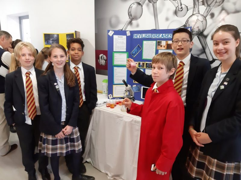 Making waves! Praise for pupils' STEAM projects