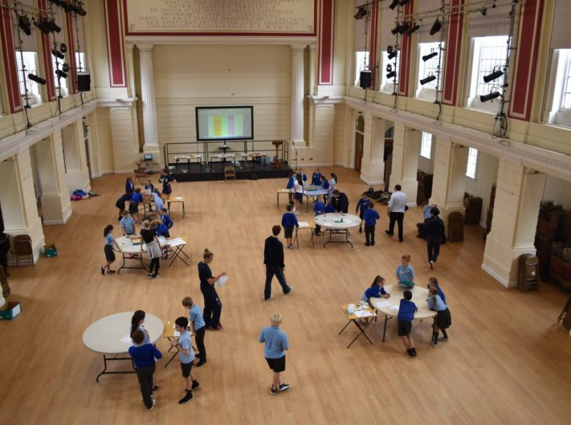 Smiles all round as Discovery Day strengthens links with Haileybury Turnford