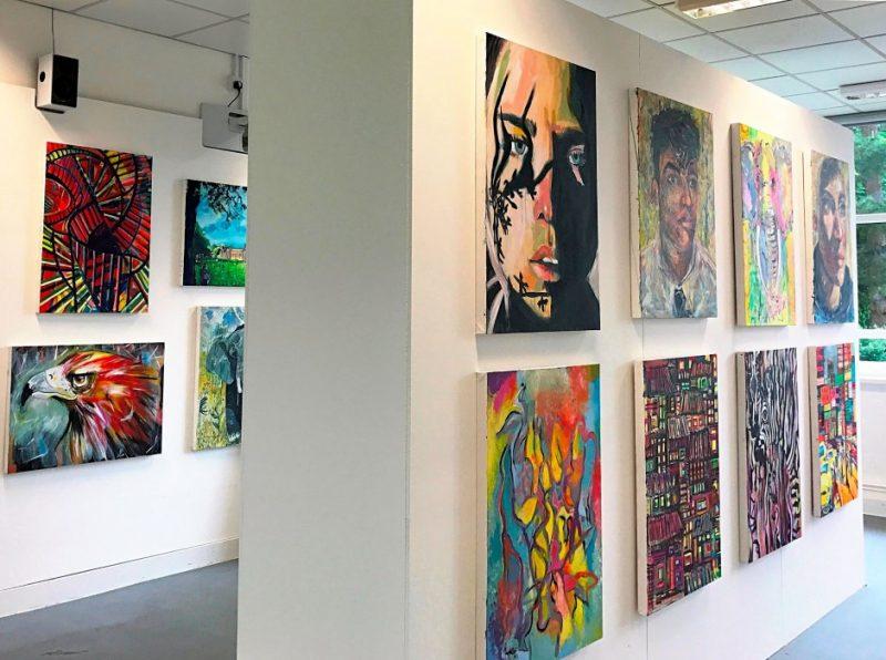 Haileybury's artists display work in exhibition