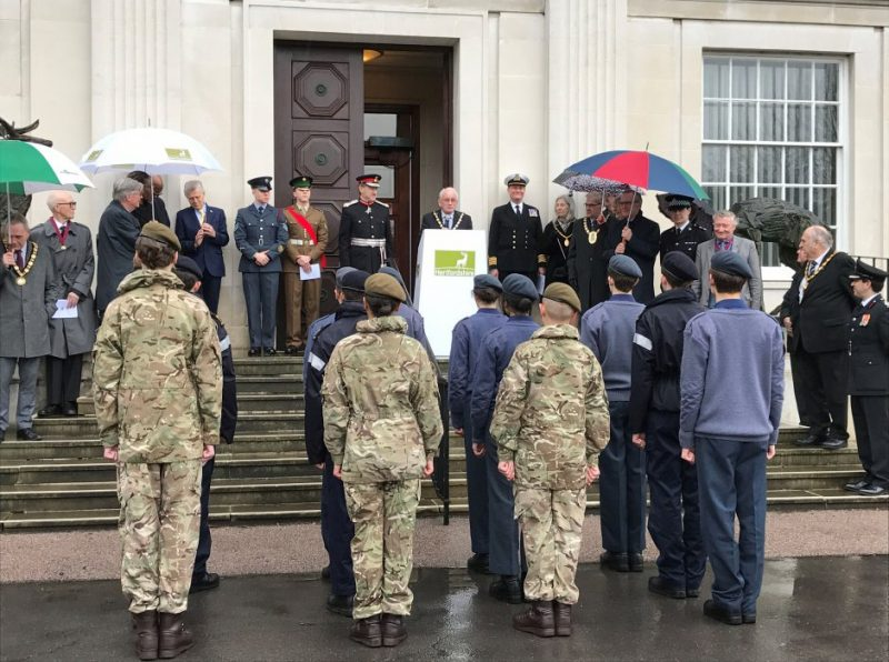 CCF cadets mark Commonwealth Day