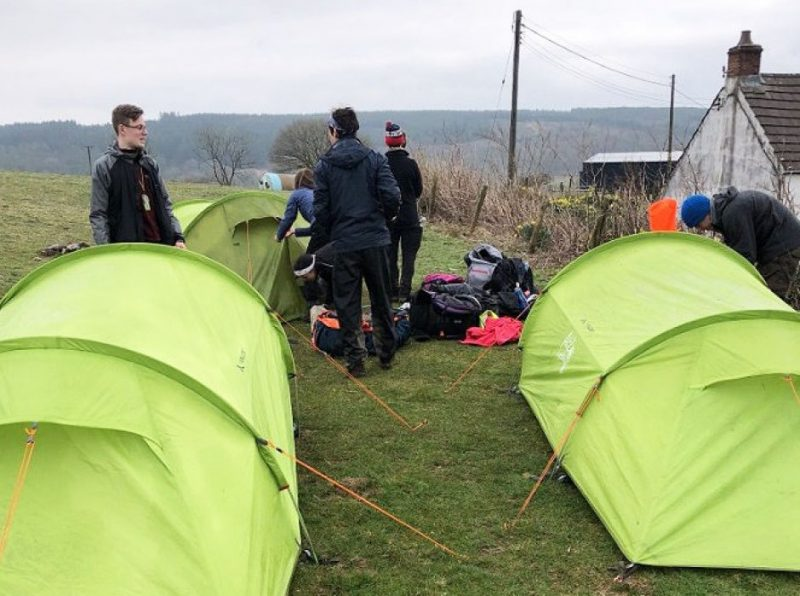 DofE Gold Award practice expedition
