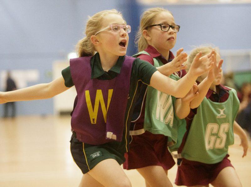 Haileybury hosted the annual U10 Girls' Netball Festival