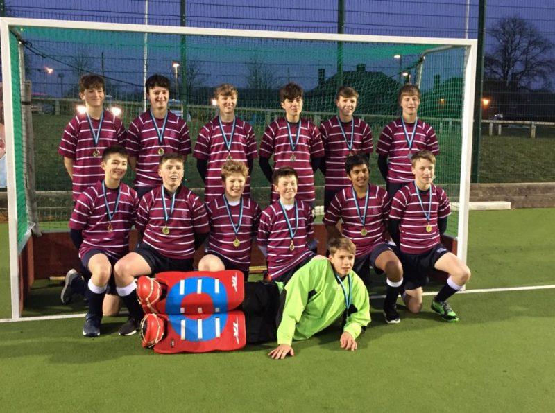 U14 boys' hockey team triumphs in the County Tournament