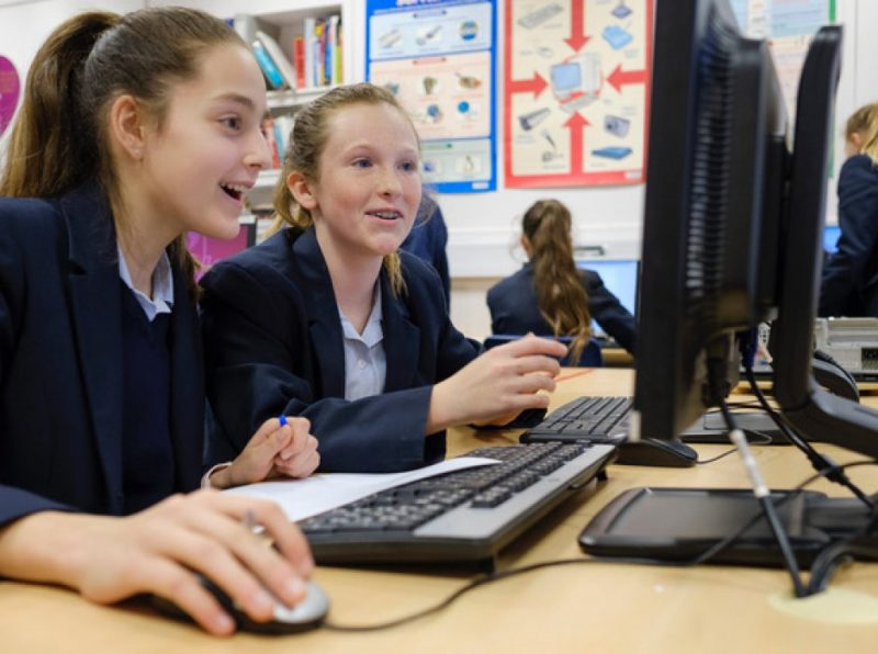 Lower School 2 (Year 8) girls enter National Cyber Security Centre girls only competition