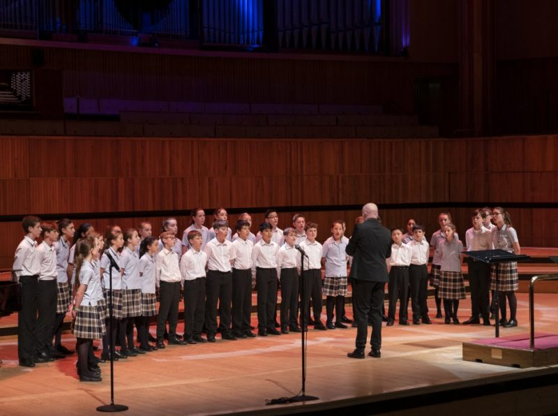 Lower School Chamber Choir performed at The Royal Festival Hall