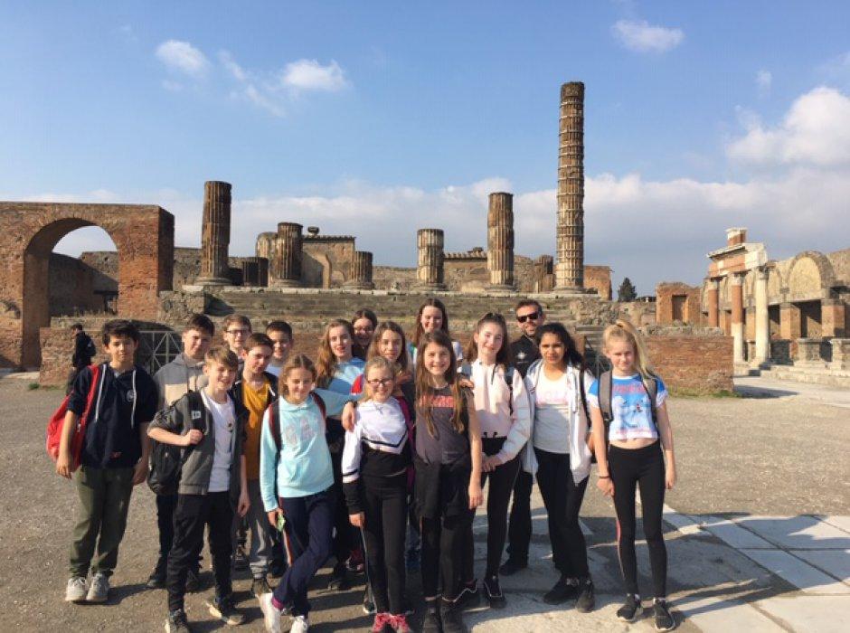 Lower School pupils visit Naples