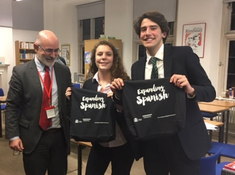 Lower Sixth pupils through to finals of Spanish Debating Competition