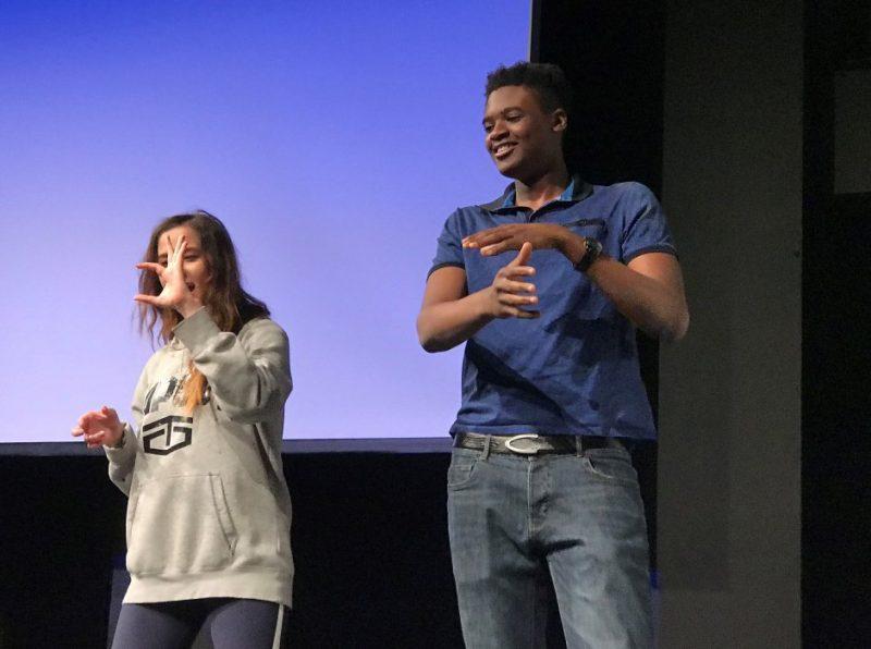 New York Film Academy workshop at Haileybury