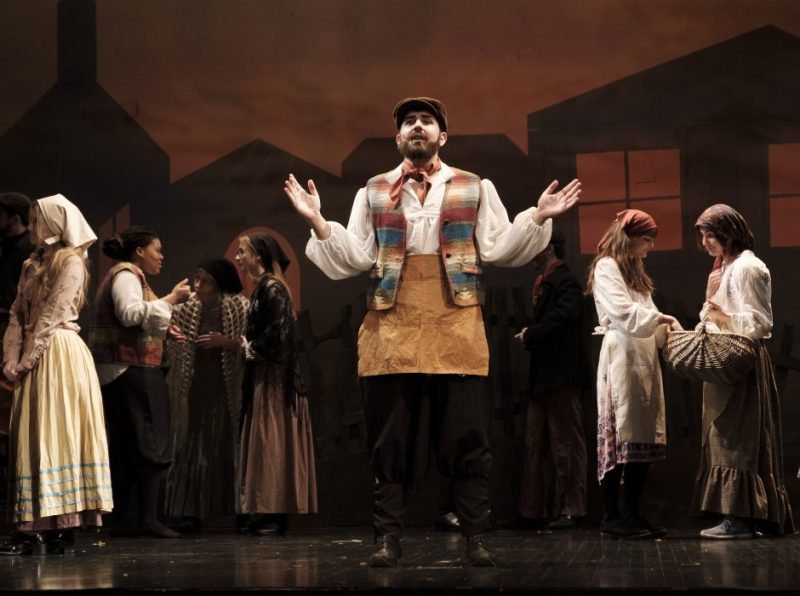An outstanding performance of Fiddler on the Roof