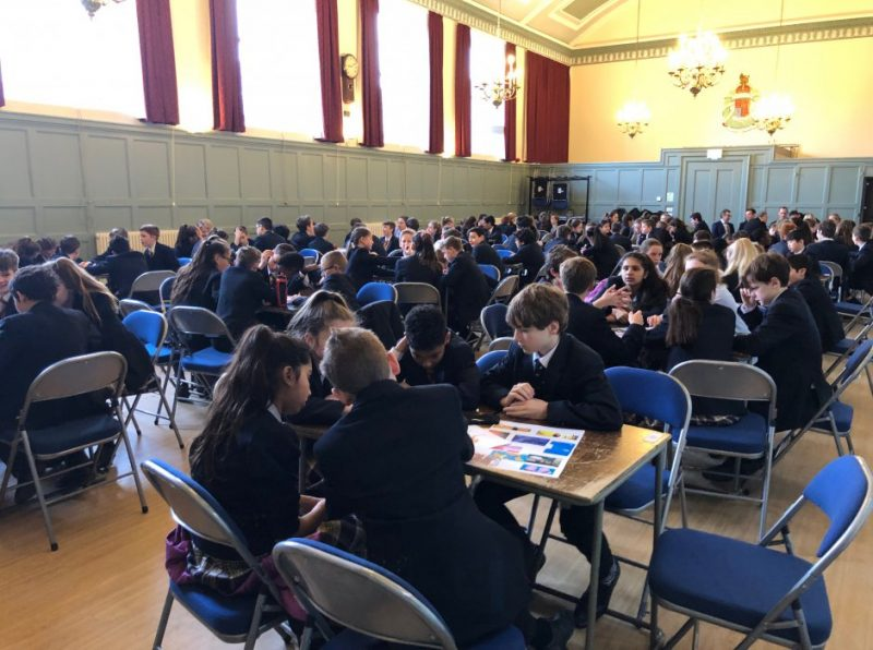 Pupils at Haileybury celebrate World Book Day