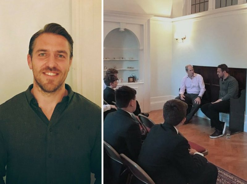 Rugby star Chris Wyles inspires the next generation