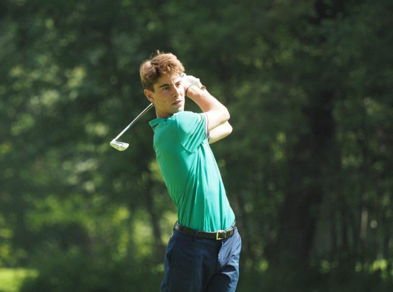 Star golfer Seba thanks Haileybury for helping him reach national championship