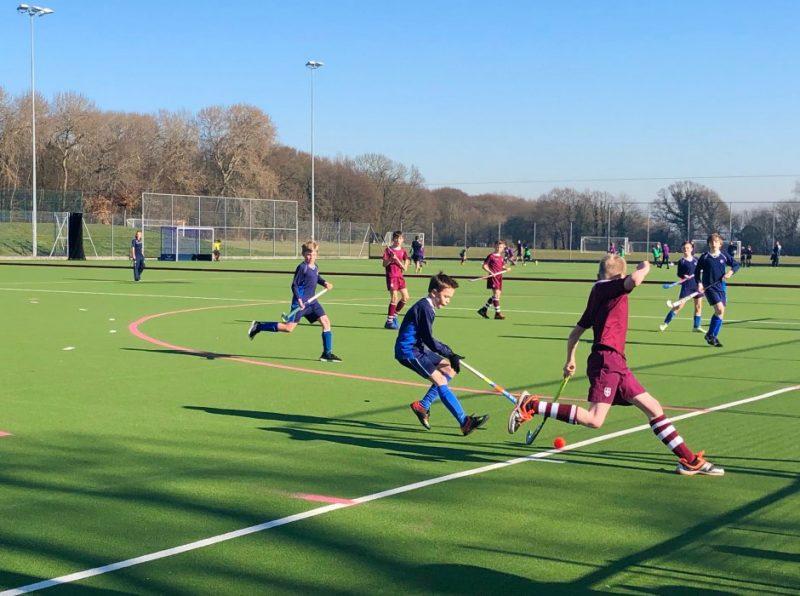 Terrific IAPS U11 Boys' Hockey Qualifier hosted at Haileybury