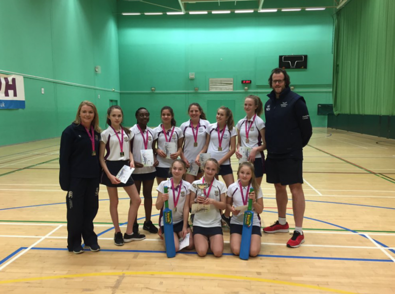 U13 cricket girls crowned Lady Taverners County Champions