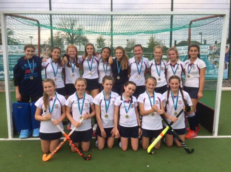 U14A Hockey girls win County Cup