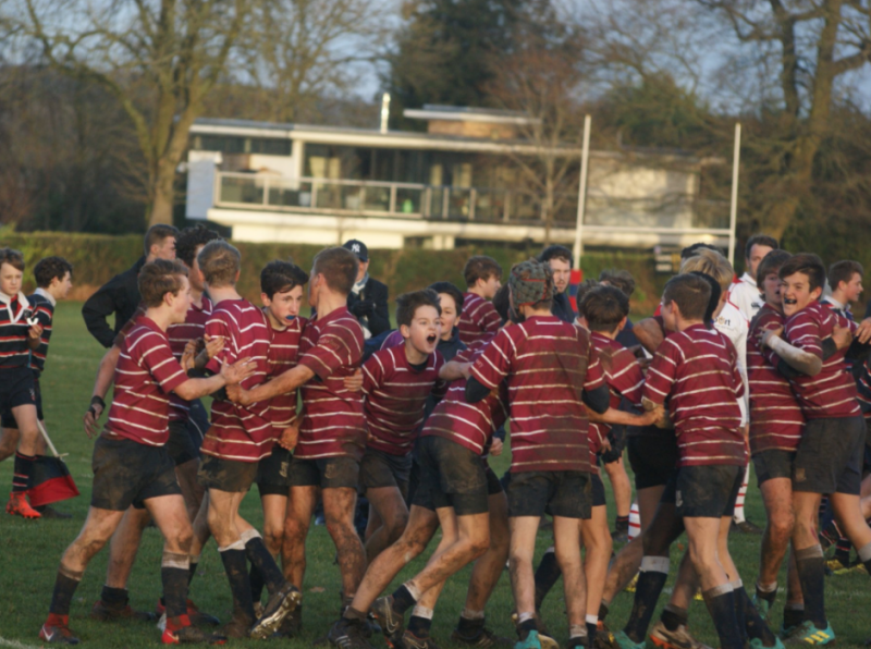 U14A rugby team crowned County Cup champions