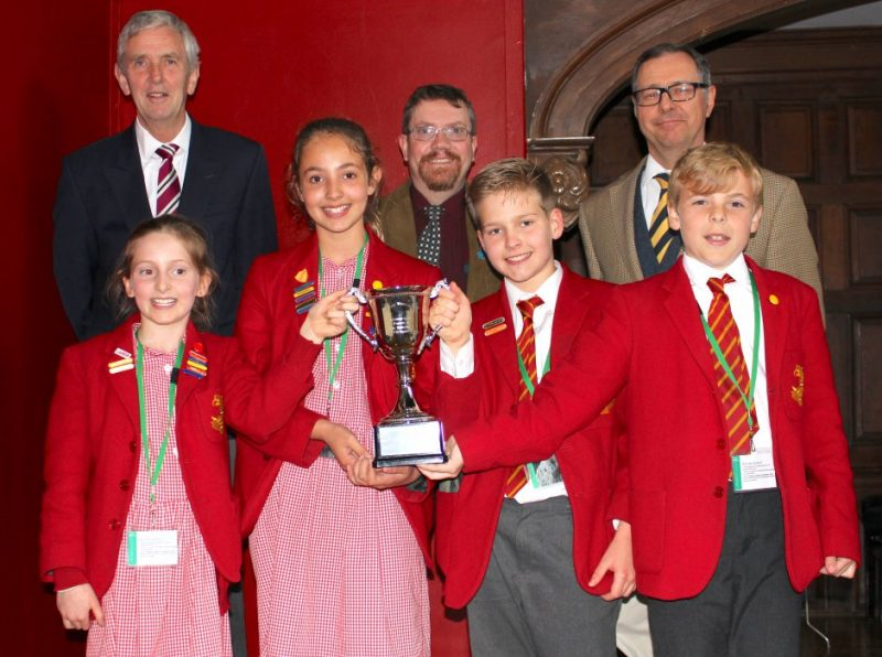 Visiting teacher pays tribute to hosts Haileybury and his victorious STEM Challenge team