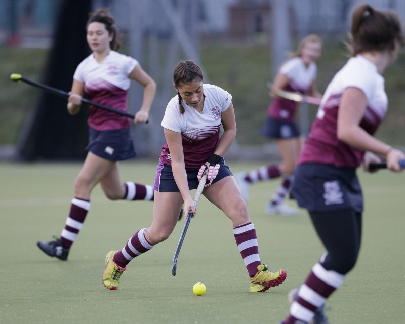 Haileybury hockey captain and England hopeful hails school's impact