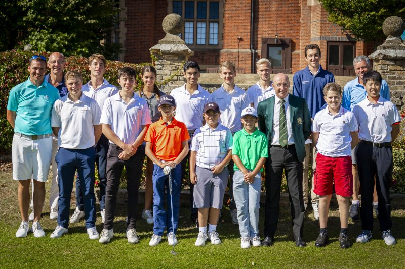 Haileybury golfers sweep the board at junior open