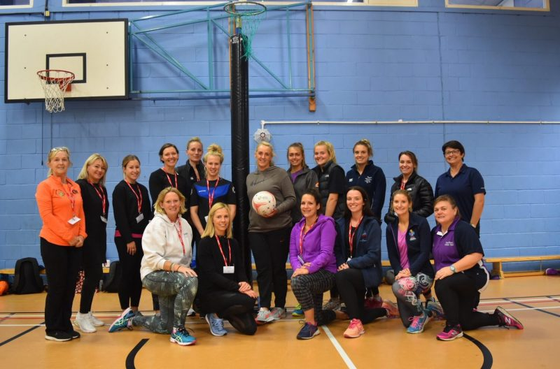 Tracey Neville at Haileybury: Ex-England netball head coach says schools can help grow sport