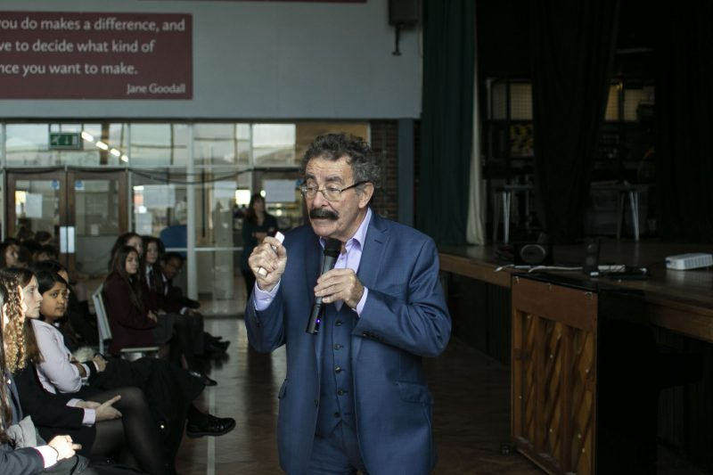 Professor Robert Winston opens new-look science labs at Haileybury Turnford
