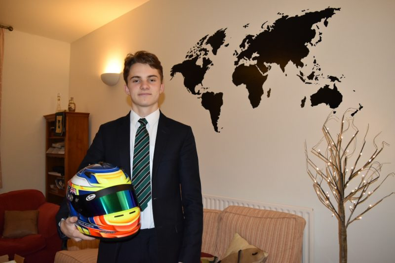 Oscar's world: The Haileybury pupil on track for F1 stardom