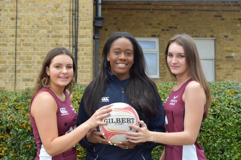 Fire and ice: Meet this season's 1st VII Netball captains
