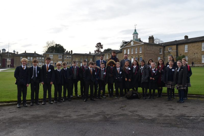 Maths masterclass day plus partner school adds up to improved aspirations