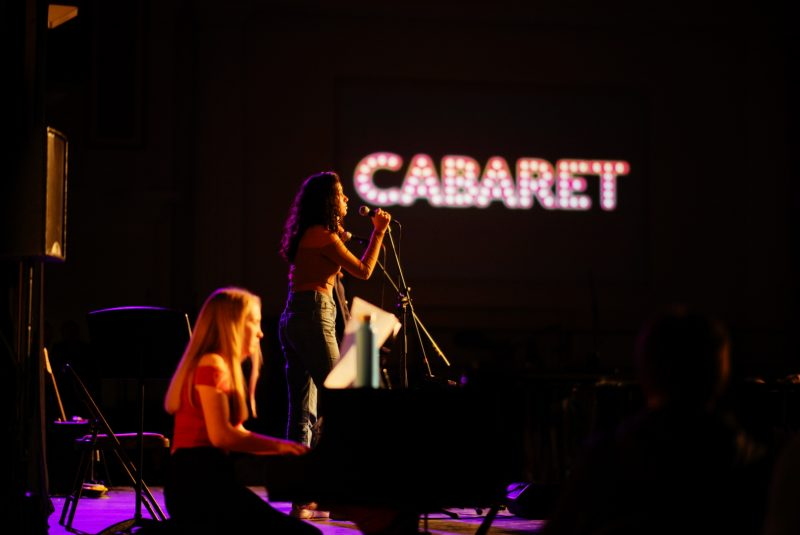 Pupils shine at Cabaret to light up In Weekend across campus