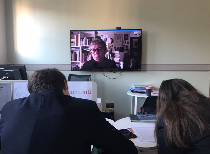 Skype sessions connecting linguists with acclaimed artists and writers