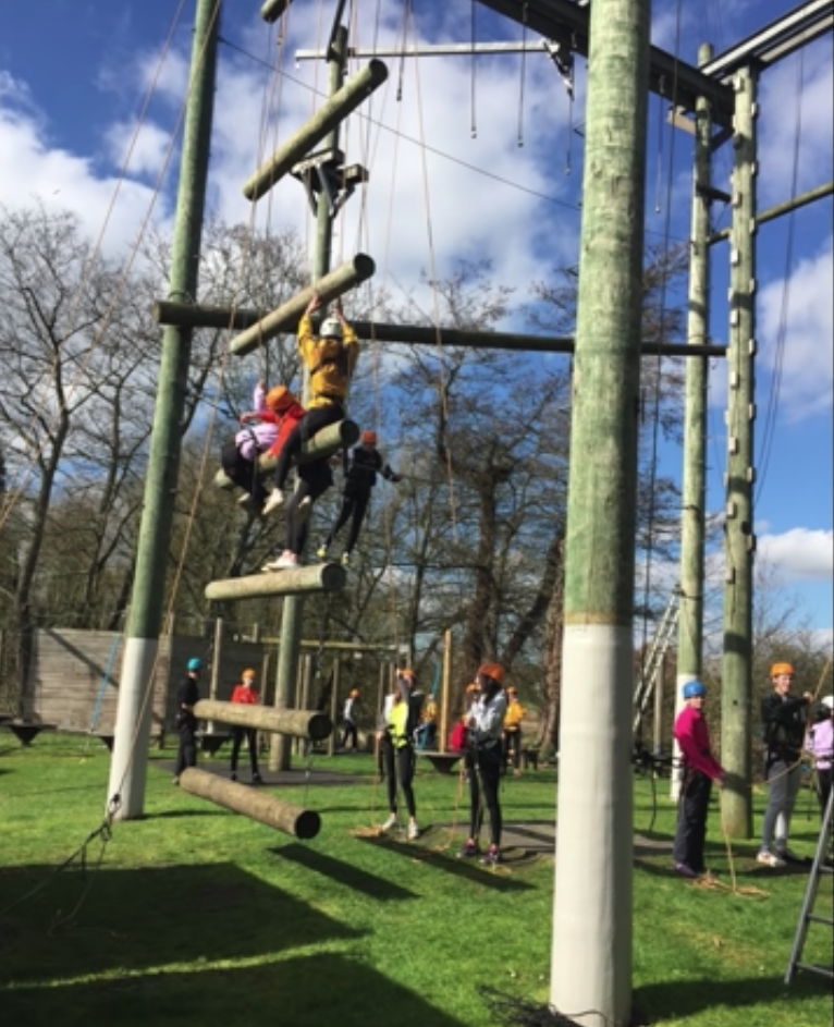 Pupils hit the heights with a packed programme of adventure activities