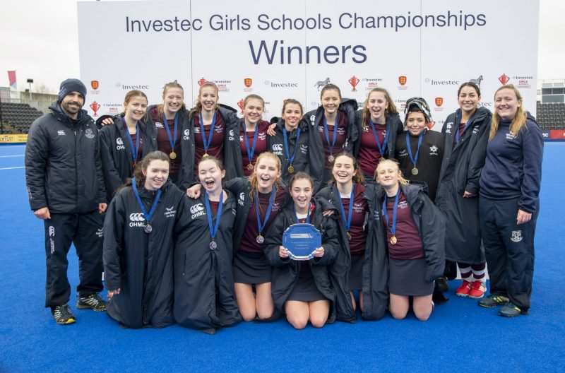 Raining champions at Olympic Park as our 1st XI clinch national title