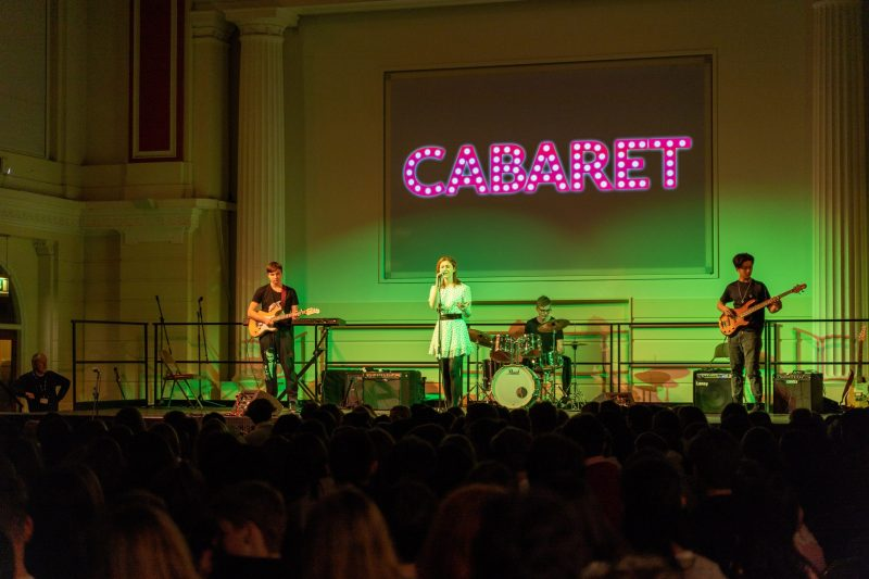 Term Highlight: Cabaret crowd blown away by talent on show