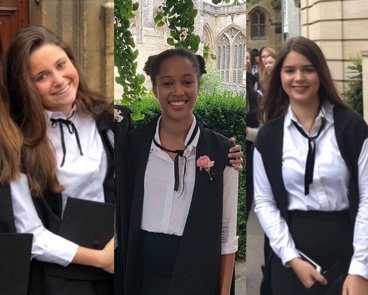 Hats off to our trio of Oxford graduates for their hat-trick of first-class degrees