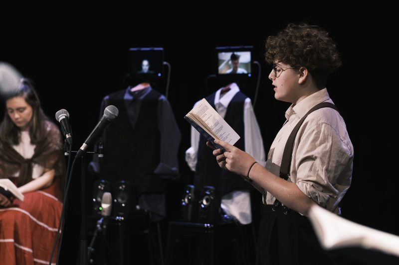 Sixth Form pupils rise to the occasion as more than 500 watch Under Milk Wood online