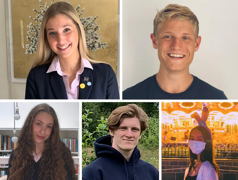 Celebration time: Haileybury A level pupils excel with 91.5% awarded exceptional A* – B grades and 70% receiving grades of A* – A