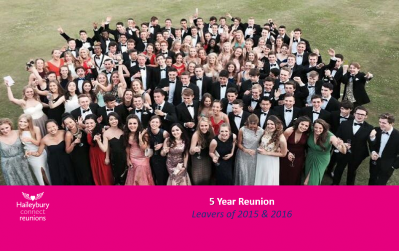 HC 5 year Reunion – Leavers 2015 & 2016